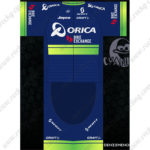 2016 Team ORICA Cycling Kit Blue Green