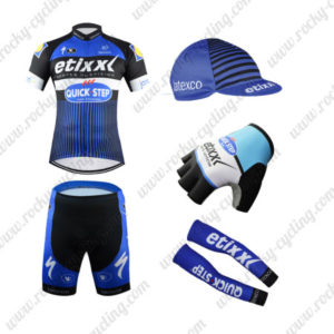 2016 Team QUICK STEP Cycling 5-piece Set Blue