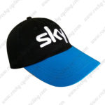 2016 Team SKY Cycling Sun Hat Black Blue
