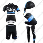 2016 Team SKY Rapha Cycling 5-piece Set Black Blue