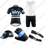 2016 Team SKY Rapha Riding Bib Set 5-piece