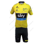 2016 Team SKY Rapha Tour de France Biking Kit Yellow
