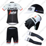 2016 Team TREK Segagredo Cycling 5-piece Set Black White