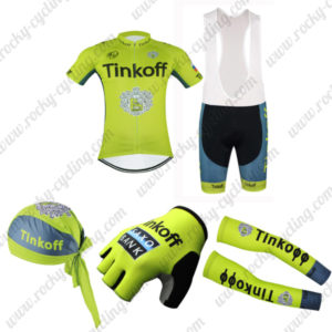 2016 Team Tinkoff Cycling Bib Set 5-piece