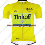 2016 Team Tinkoff Tour de France Cycling Jersey Maillot Shirt Yellow