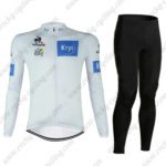 2016 Tour de France Krys Cycling Long Suit White