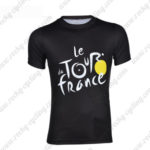 2016 Tour de France Outdoor Sport Apparel Cycling Sweatshirt Round Neck T-shirt Black
