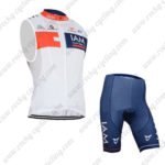 2015 Team IAM Cycling Kit White Blue