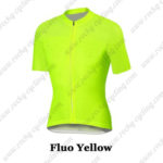 2016 Pro Cycling Jersey Maillot Shirt Fluo Yellow