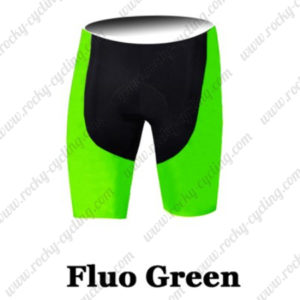 2016 Pro Cycling Shorts Bottoms Fluo Green
