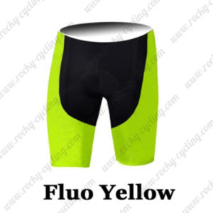 2016 Pro Cycling Shorts Bottoms Fluo Yellow