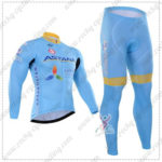2016 Team ASTANA Riding Long Suit Blue