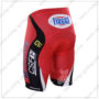 2016 Team BARDIANI CSF Bicycle Shorts Bottoms Red