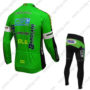 2016 Team BARDIANI CSF Biking Long Suit Green