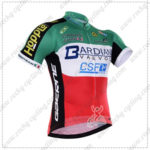 2016 Team BARDIANI CSF Cycling Jersey Maillot Shirt Green Red