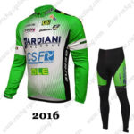 2016 Team BARDIANI CSF Cycling Long Suit Green