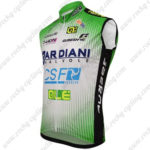 2016 Team BARDIANI CSF Cycling Sleeveless Vest Green
