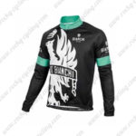2016 Team BIANCHI Riding Long Jersey Maillot White Black Blue