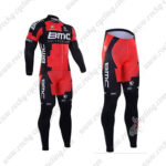 2016 Team BMC Cycling Long Suit Red Black2016 Team BMC Cycling Long Suit Red Black