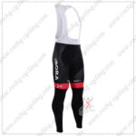 2016 Team BORA ARGON 18 Cycling Long Bib Pants Tights Black