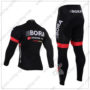 2016 Team BORA ARGON 18 Riding Long Suit Black