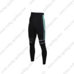 2016 Team Bianchi Cycling Long Pants Tights Black Blue