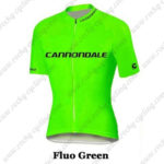 2016 Team Cannondale Cycle Jersey Maillot Fluo Green