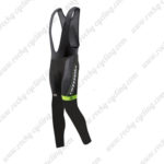 2016 Team Cannondale Riding Long Bib Pants Tights Black