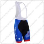 2016 Team Cervelo Bigla Cycle Bib Shorts Bottoms Black Blue