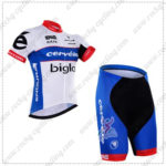 2016 Team Cervelo Bigla Cycling Kit White Blue