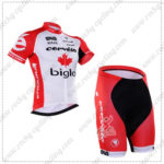2016 Team Cervelo Bigla Cycling Kit White Red