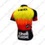 2016 Team Cinelli Bicycle Jersey Maillot Shirt Red Yellow