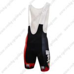 2016 Team Cinelli Cycling Bib Shorts Bottoms Black Red