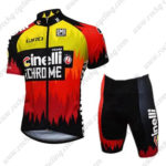 2016 Team Cinelli Cycling Kit Black Red