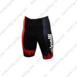 2016 Team Cinelli Cycling Shorts Bottoms Black Red