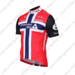 2016 Team Dimension data Deloitte Norway Cycling Jersey Maillot Red