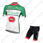 2016 Team Euskadi edp Cycling Kit Green White