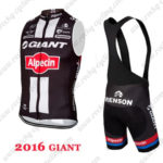 2016 Team GIANT Alpecin Cycle Sleeveless Bib Kit2016 Team GIANT Alpecin Cycle Sleeveless Bib Kit