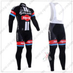2016 Team GIANT Alpecin Pro Bicycle Long Bib Suits Black