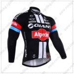 2016 Team GIANT Alpecin Pro Bicycle Long Jersey Maillot Shirt Black