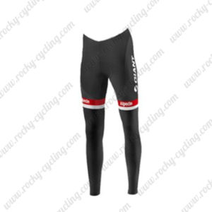 2016 Team GIANT Alpecin Pro Cycle Long Pants Black White