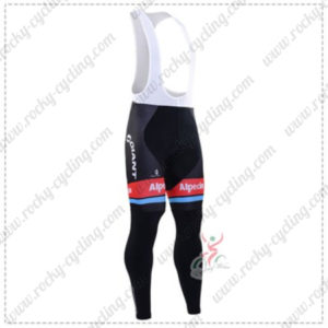 2016 Team GIANT Alpecin Pro Cycling Long Bib Pants Black