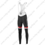 2016 Team GIANT Alpecin Pro Cycling Long Bib Pants Black White