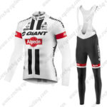 2016 Team GIANT Alpecin Pro Cycling Long Bib Suit White