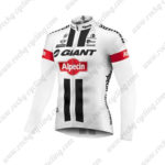 2016 Team GIANT Alpecin Pro Cycling Long Jersey Maillot White