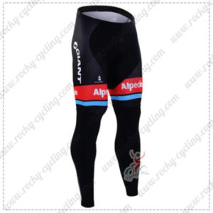 2016 Team GIANT Alpecin Pro Cycling Long Pants Tights Black