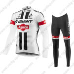2016 Team GIANT Alpecin Pro Cycling Long Suit White