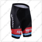 2016 Team GIANT Alpecin Pro Cycling Shorts Bottoms Black
