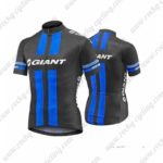 2016 Team GIANT Cycling Jersey Maillot Shirt Black Blue