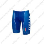 2016 Team ITALIA Castelli Cycling Shorts Bottoms Blue